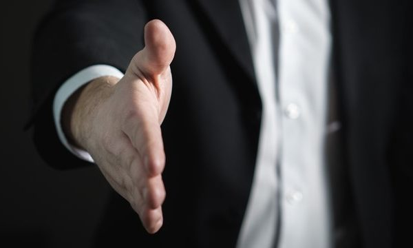 How You Introduce Yourself with Handshake