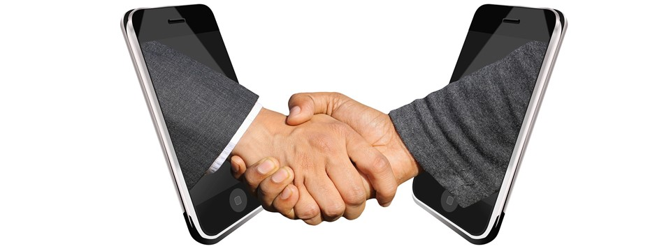 introduction shaking hands