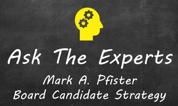 ATE - Mark A. Pfister, Board Candidate Strategy