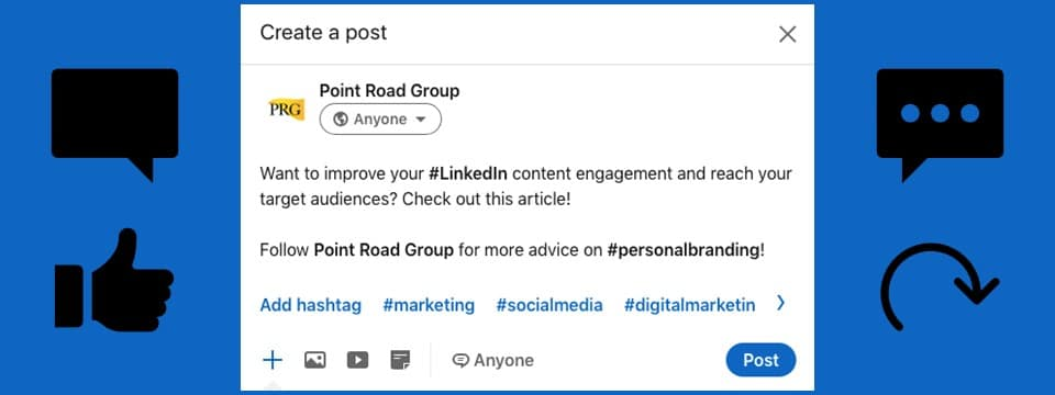 LinkedIn content engagement strategies