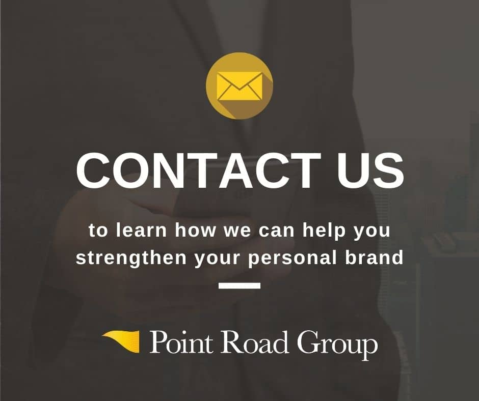 Contact Point Road Group for help with strengthening your personal brand